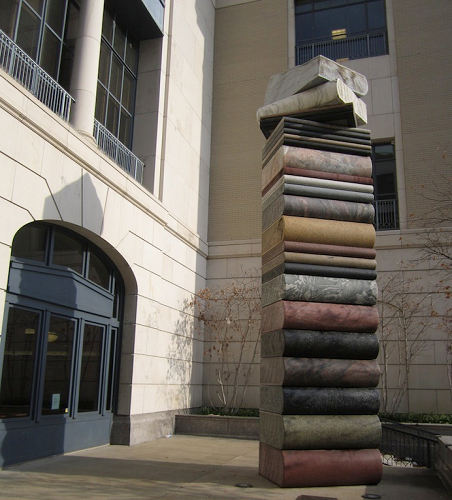 White Glove Transportation project for Robert A.M. Stern Architects at the Nashville Public Library, Nashville TN